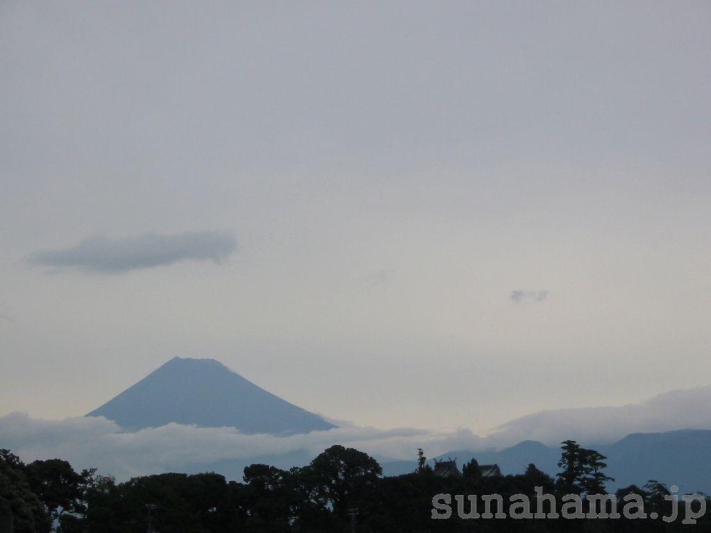 大瀬からの富士山 1024×768