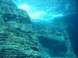 男岩の壁紙【沖縄の海中壁紙 水中写真を壁紙にしました!】